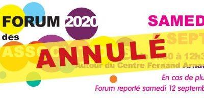 Foire aux associations saint clément de rivière 2020 annulée