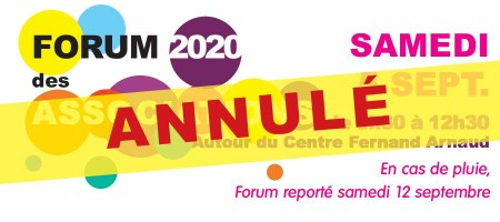 annulation forum des associations saint-clement de riviere 34980